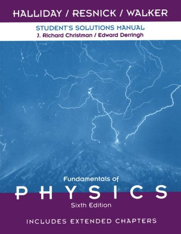 Fundamentals of Physics  6th 2001 9780471360346 Front Cover