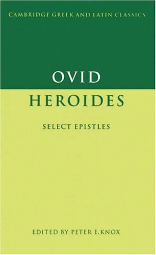 Ovid: Heroides Select Epistles  1995 edition cover