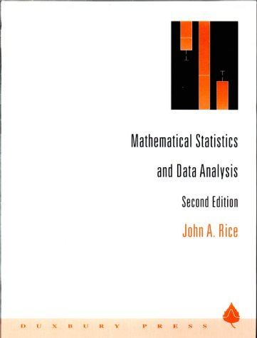 Mathematical Statistics and Data Analysis  2nd 1995 (Revised) edition cover