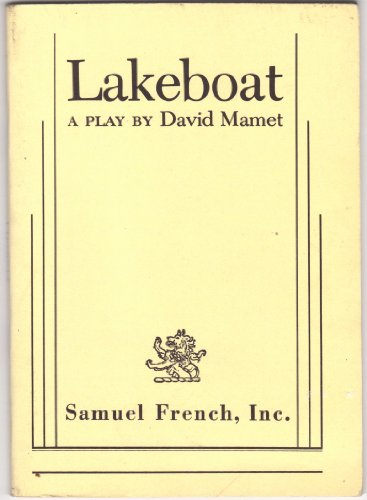 Lakeboat  1983 9780573640346 Front Cover