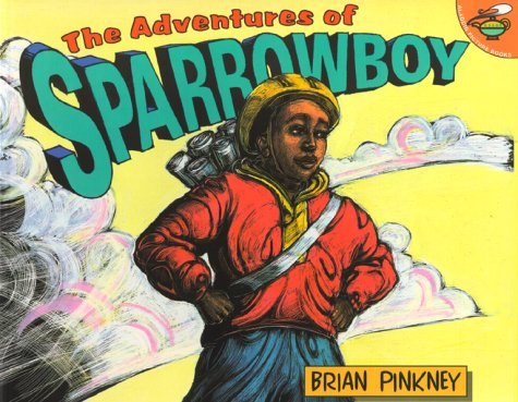 Adventures of Sparrowboy   2000 edition cover
