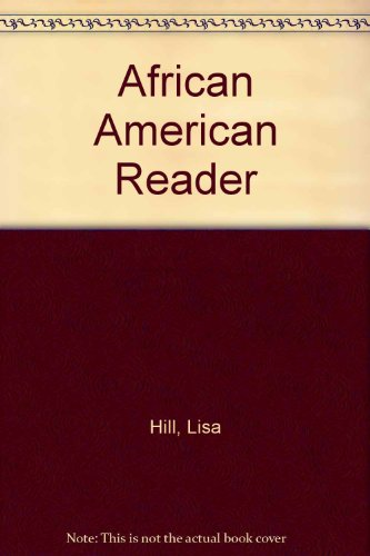 African American Reader  2009 9780757570346 Front Cover