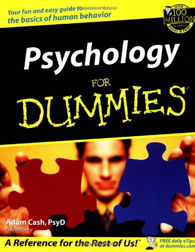 Psychology for Dummies�   2002 edition cover