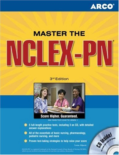 Master the NCLEX-PN  4th 2006 9780768923346 Front Cover