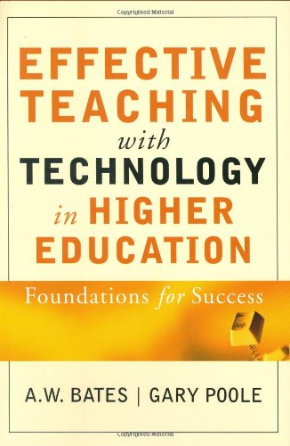 Effective Teaching with Technology in Higher Education Foundations for Success  2003 edition cover