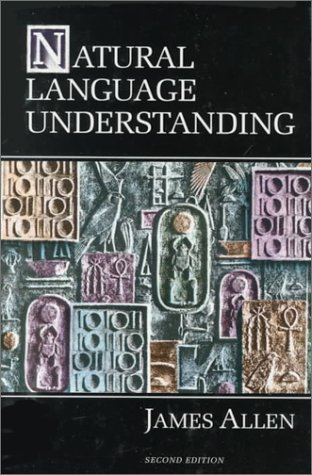 Natural Language Understanding  2nd 1995 (Revised) edition cover