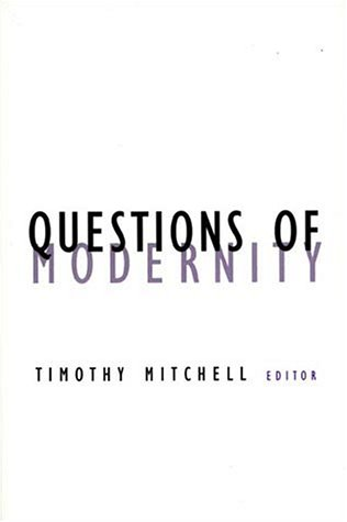 Questions of Modernity   2000 edition cover