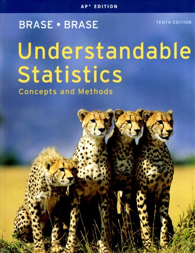 UNDERSTANDABLE STATISTICS-AP ED. 10th edition cover