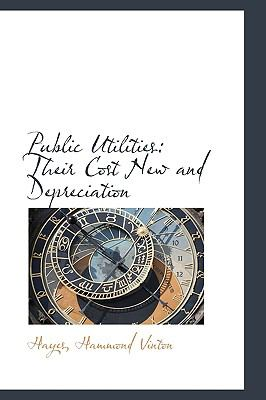 Public Utilities : Their Cost New and Depreciation N/A 9781113458346 Front Cover
