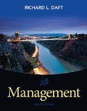 Management + Mindtap Management, 1 Term 6 Month Printed Access Card:   2015 edition cover