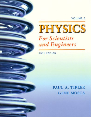 Physics for Scientists and Engineers  6th 2008 edition cover