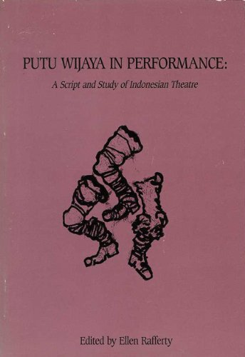 Putu Wijaya in Performance A Script and Study of Indonesian Theatre  1989 edition cover