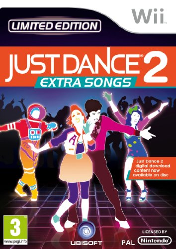 Just Dance 2 Extra Songs (Wii) Nintendo Wii artwork