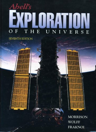 Abell's Exploration of the Universe 7th 1995 edition cover