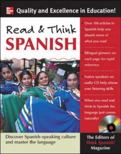 Read and Think Spanish Discover the Spanish-Speaking Culture and Master the Language  2006 edition cover