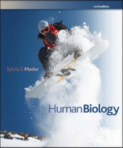Human Biology  10th 2008 (Revised) 9780073309347 Front Cover