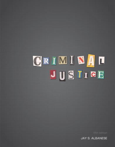 Criminal Justice  5th 2013 (Revised) edition cover