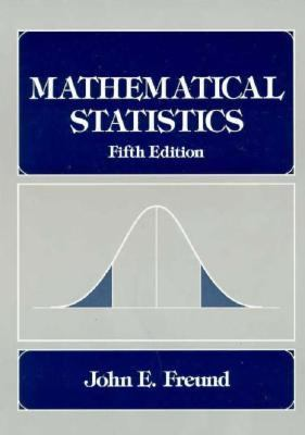 Mathematical Statistics  5th 1992 edition cover