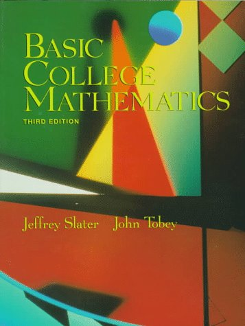Basic College Mathematics  3rd 1998 (Revised) 9780137436347 Front Cover