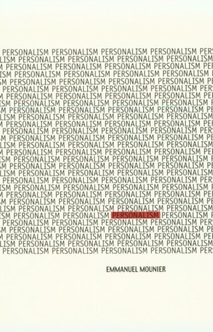 Personalism  Reprint  edition cover