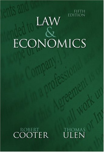 Law and Economics  5th 2008 edition cover