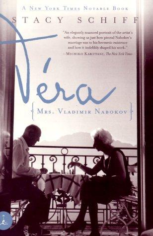 V�ra Mrs. Vladimir Nabokov  2000 edition cover