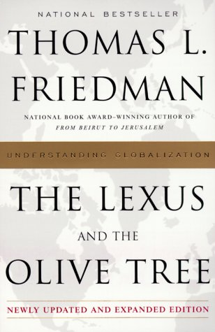 Lexus and the Olive Tree Understanding Globalization  2000 9780385499347 Front Cover