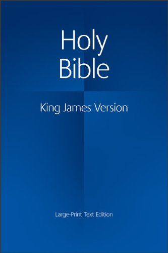 Holy Bible   1986 (Large Type) 9780521163347 Front Cover