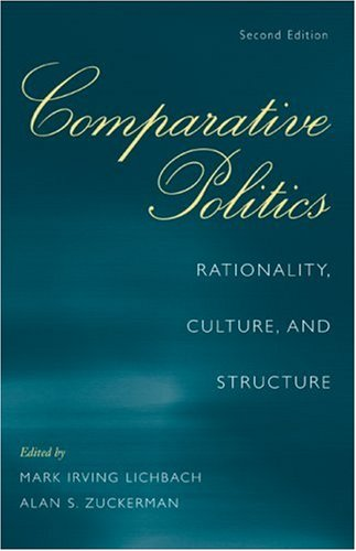 Comparative Politics Rationality, Culture, and Structure 2nd 2009 edition cover