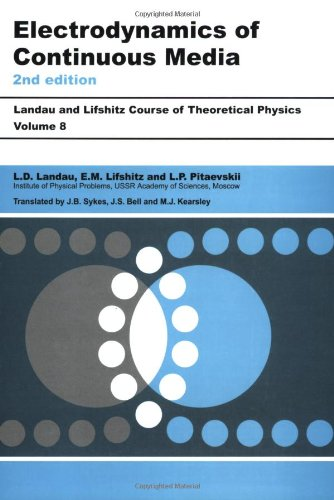 Electrodynamics of Continuous Media  2nd 1984 (Revised) edition cover