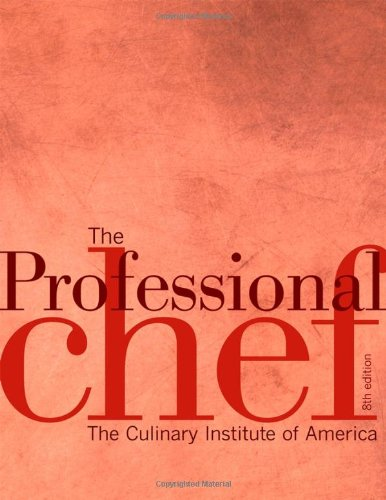 New Professional Chef Academic 5e  8th 2006 (Revised) edition cover