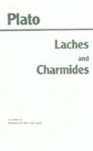 Laches and Charmides  Reprint  edition cover