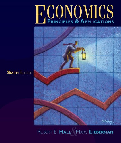 Economics Principles and Applications 6th 2013 edition cover