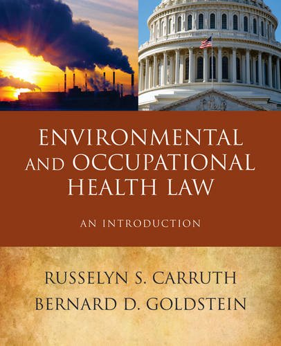 Environmental Health Law An Introduction  2014 edition cover