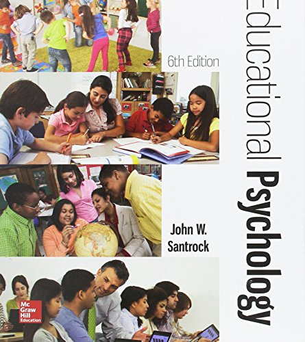 Educational Psychology  6th 2018 9781259870347 Front Cover
