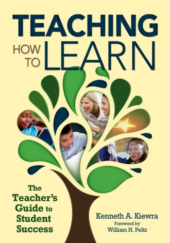 Teaching How to Learn The Teacher's Guide to Student Success  2009 (Training Guide (Instructor's)) 9781412965347 Front Cover