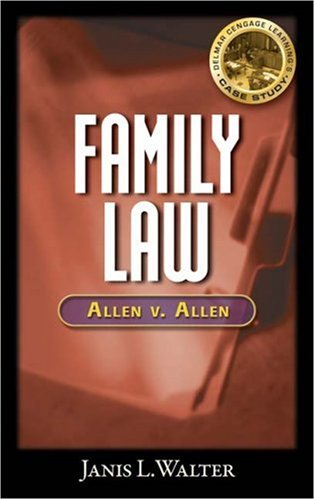 Family Law Case Study   2009 edition cover