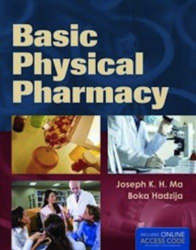 Basic Physical Pharmacy   2013 edition cover