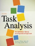 TASK ANALYSIS-W/FLASHDRIVE              N/A edition cover