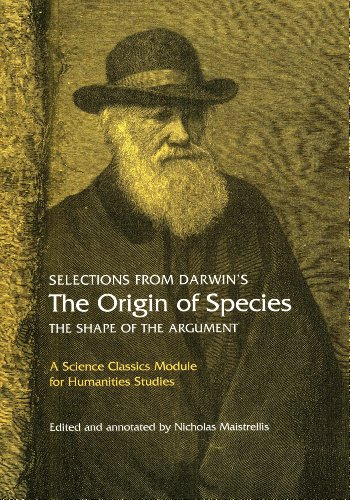 Selections from Darwin's The Origin of Species The Shape of the Argument  2009 edition cover