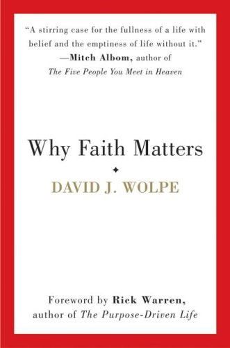 Why Faith Matters   2008 9780061633348 Front Cover