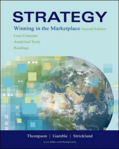 Strategy Core Concepts, Analytical Tools, Readings with Online Learning Center with Premium Content Card 2nd 2006 (Revised) edition cover