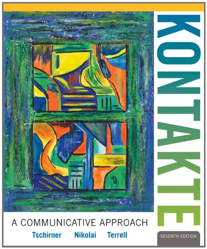 Kontakte A Communicative Approach 7th 2013 edition cover
