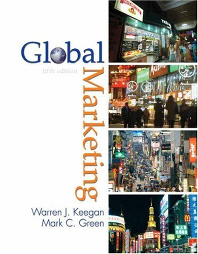 Global Marketing  5th 2008 edition cover