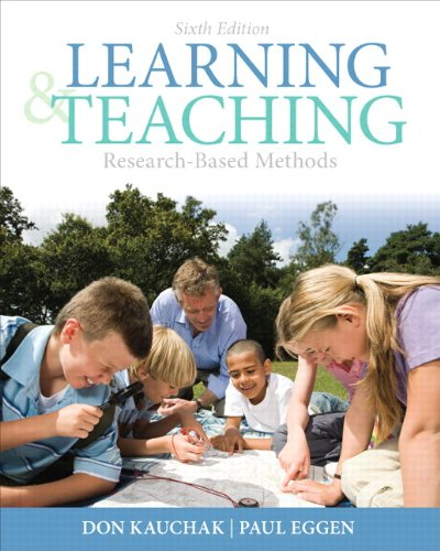 Learning and Teaching Research-Based Methods 6th 2012 edition cover