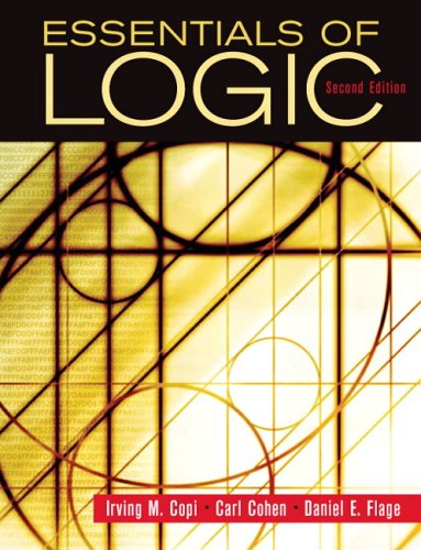 Essentials of Logic  2nd 2006 (Revised) edition cover