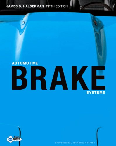 Automotive Brake Systems  5th 2010 edition cover