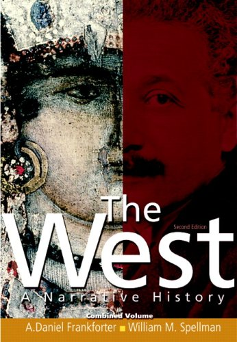 West A Narrative History 2nd 2009 edition cover