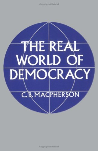 Real World of Democracy   1974 edition cover