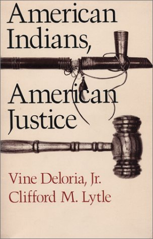 American Indians, American Justice   1983 edition cover